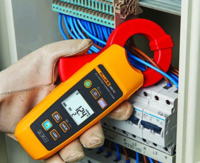 Клещи для измерения тока утечки серии Fluke 368 FC и Fluke 369 FC