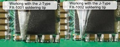 Сравнение паяльников FX-1001 и FX-1002